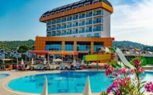 🌴ТУРЦИЯ😱 5* эконом класса за 370€  🔥 🏫Throne Beach Resort & Spa 5*☀SIDE 🌊